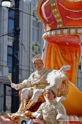 When New Orleans was struggling to regain its mojo after the Civil War, businessmen and civic leaders invented a benevolent monarch to reign over a daytime parade on Mardi Gras. Rex and his queen — a debutante chosen by krewe leaders largely on the basis of her father's prominence and her familial connections to past Rex royalty — came to be recognized as monarchs of the entire Carnival celebration.